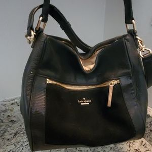 Leather and suede Kate Spade purse